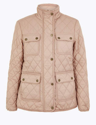 M&S CollectionMarks and Spencer Quilted Utility Jacket