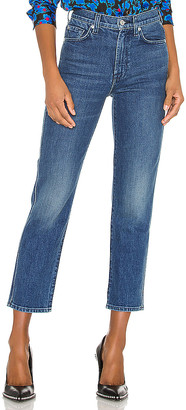 7 For All Mankind High Waist Cropped Straight. - size 24 (also