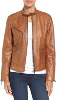 Bernardo Petite Women's Kirwin Leather Jacket