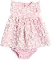 Il Gufo Tulle & Cotton Poplin Dress W/ Briefs