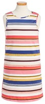 Kate Spade Girl's Berber Stripe A-Line Dress