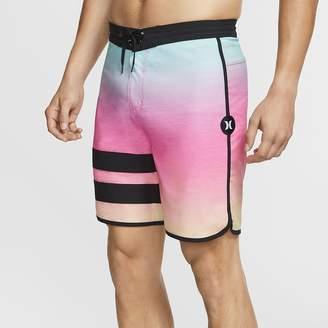 "Nike Men's 18"" Board Shorts Hurley Phantom Block Party Keep Cool"