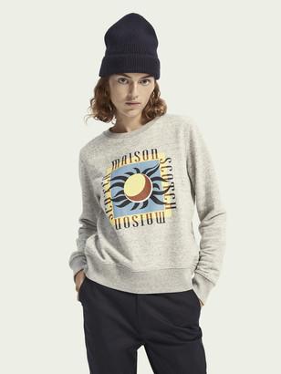 Scotch & Soda Regular fit cotton-blend sweatshirt | Women