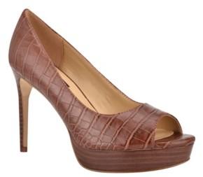 Peep Toe Heels Cognac | Shop the world