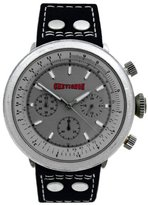 Chevignon Men's Quartz Watch with Black Dial Analogue Display Quartz Leather 92/502
