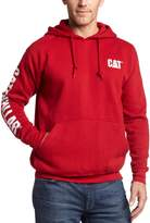 Caterpillar Men's Big and Tall Trademark Banner Hooded Sweatshirt