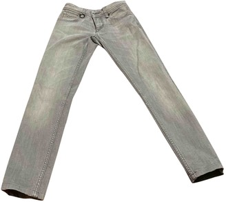 Burberry Grey Denim - Jeans Trousers for Women
