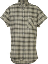 Zanerobe checked shortsleeved shirt - men - Cotton - S