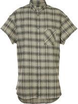 Zanerobe checked shortsleeved shirt
