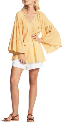 Seafolly Beach Edit Tiered Sleeve Cover Up