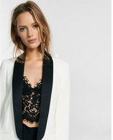 Express long-sleeve tuxedo jacket