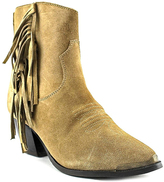 Dingo Tan GiGi Leather Cowboy Boot - Women