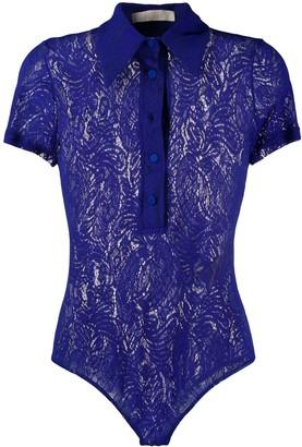 Ssheena Lace Shirt Bodysuit