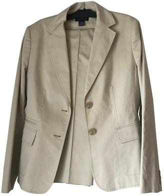 Ann Taylor Beige Cotton Jacket for Women