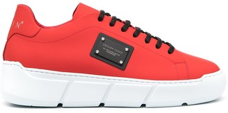 Philipp Plein Lace-Up Low-Top Sneakers