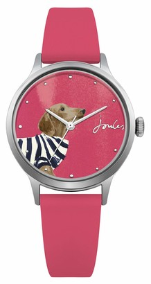 Joules Women's Analogue Quartz Watch with Silicone Strap JSL010P
