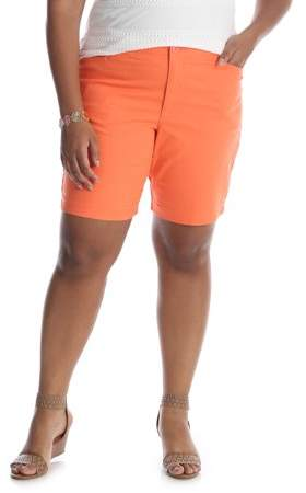 Riders Women`s Plus Simply Comfort Stretch Twill Short