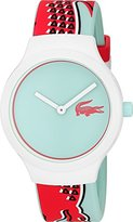 Lacoste 'GOA NEW' Quartz Multi Color Casual Watch (Model: 2020114)