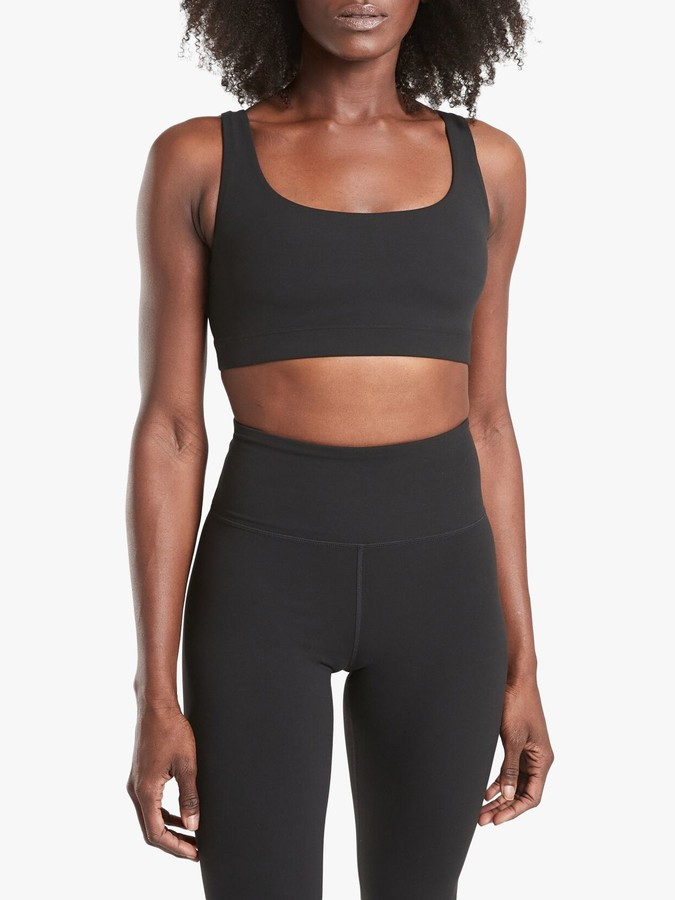Athleta Exhale Powervita A-C Cup Sports Bra