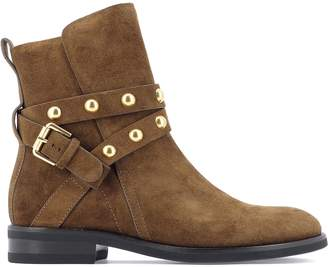 See by Chloe Studded Strap Ankle Boots