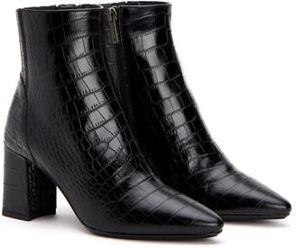 Aquatalia Posey Weatherproof Leather Bootie