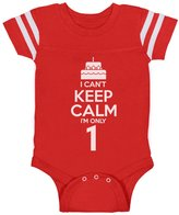 TeeStars Birthday Cake - I Can't Keep Calm I'm one Toddler Cute Baby Jersey Bodysuit