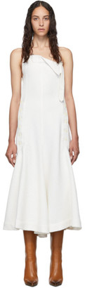 Jacquemus White La Robe Tablier Dress