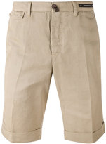 Pt01 bermuda shorts - men - Cotton/Linen/Flax - 54