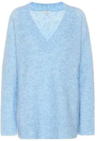 Ganni Evangelista mohair-blend sweater