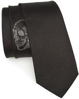 Alexander McQueen Men's Hamlet Skull Silk Tie