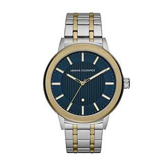 AIX Men's Three-Hand Two-Tone Stainless Steel Watch with Diamond AX1466