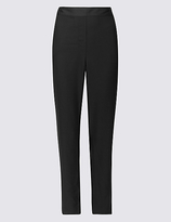Classic Satin Straight Leg Trousers