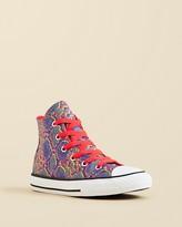 Converse Girls' CTAS High Top Sneakers - Toddler, Little Kid, Big Kid