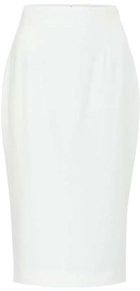 Alexander McQueen CrApe pencil skirt