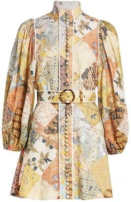 Zimmermann Brightside A-Line Mini Dress