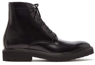 Paul Smith Farley Leather Ankle Boots - Mens - Black