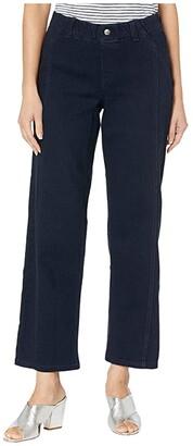 Hue Denim Culotte (Midnight Rinse) Women's Jeans
