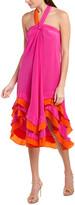 Diane von Furstenberg Sage Silk Midi Dress