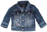 Diesel Denim Effect Stretch Cotton Jacket