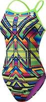 TYR Women's Sarape Crosscutfit Swimsuit-TSAR7A - Multi- 34