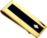 JCPenney JCP Enamel & Diamond Gold-Tone Money Clip