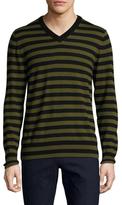 Trina Turk Timothy Cotton Striped Sweater