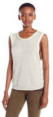 Dolce Vita Women's Aaron French Terry Sleeveless Top