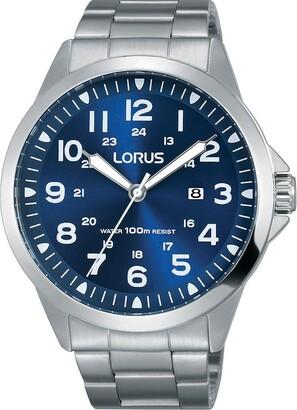 Lorus Unisex Adult Analogue Quartz Watch with Stainless Steel Strap RH925GX9