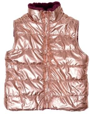 Epic Threads Toddler Girls Full Zip Reversible Vest