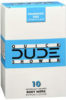 Dude Wipes Shower Wipes Singles