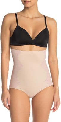 Spanx High Waist Side Lace Panty (Regular & Plus Size)