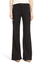 NYDJ Claire Linen Blend Wide Leg Trouser (Petite)