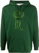 Societe Anonyme cartoon print hoodie