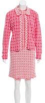 Oscar de la Renta Tweed Dress Set